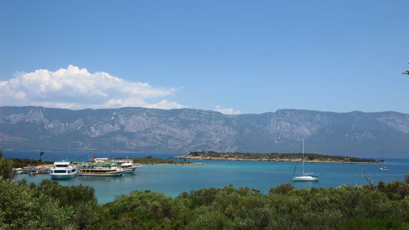 Altın Sarısı Kumlarıyla Bilinen Kleopatra Plajı Sedir Adası Turu