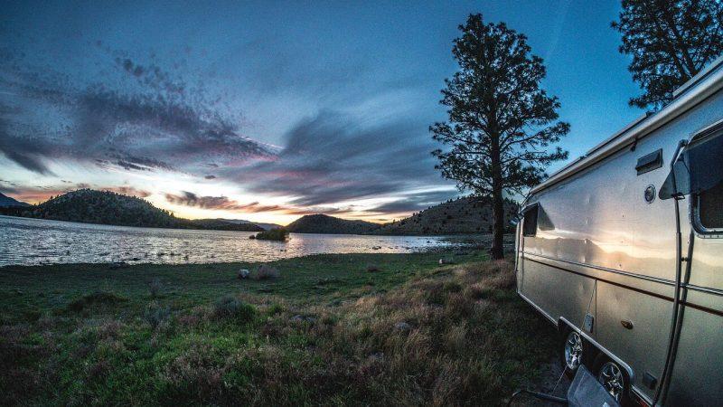 Karavan tatili - karavan kamp alanları